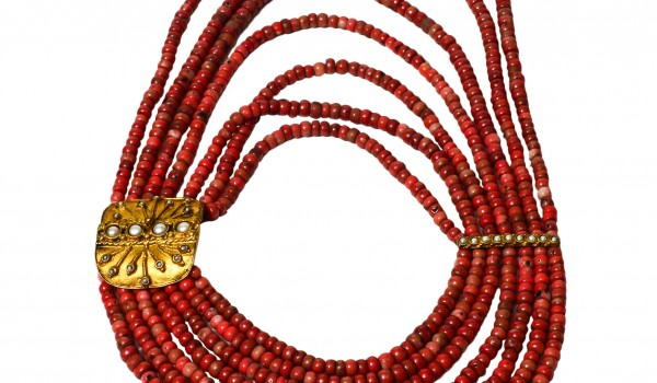 Gold Plated Coral Necklace