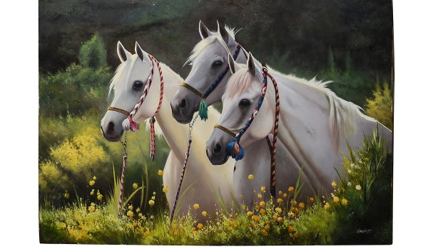 Three White Horses