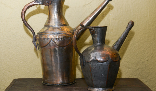 Old Copper Jugs